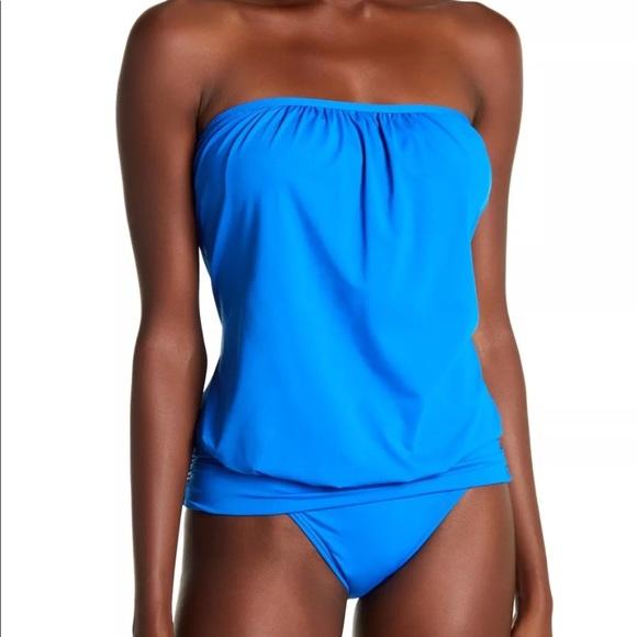 8cb5278df4 Tommy Bahama Pearl Bandini Blouson Tankini Top. M_5b4776b5f63eea28c3ab90ab